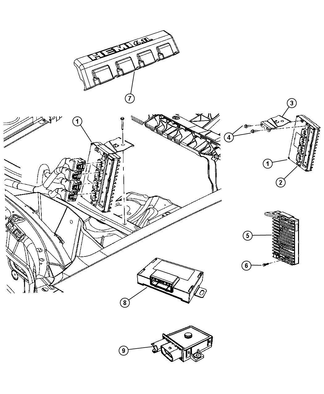 Dodge Sprinter Module Glow Plug Plugs Engine
