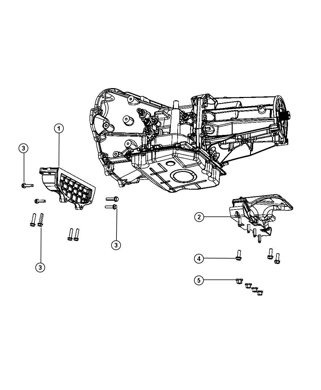 Dodge Ram Bracket Transmission Mount