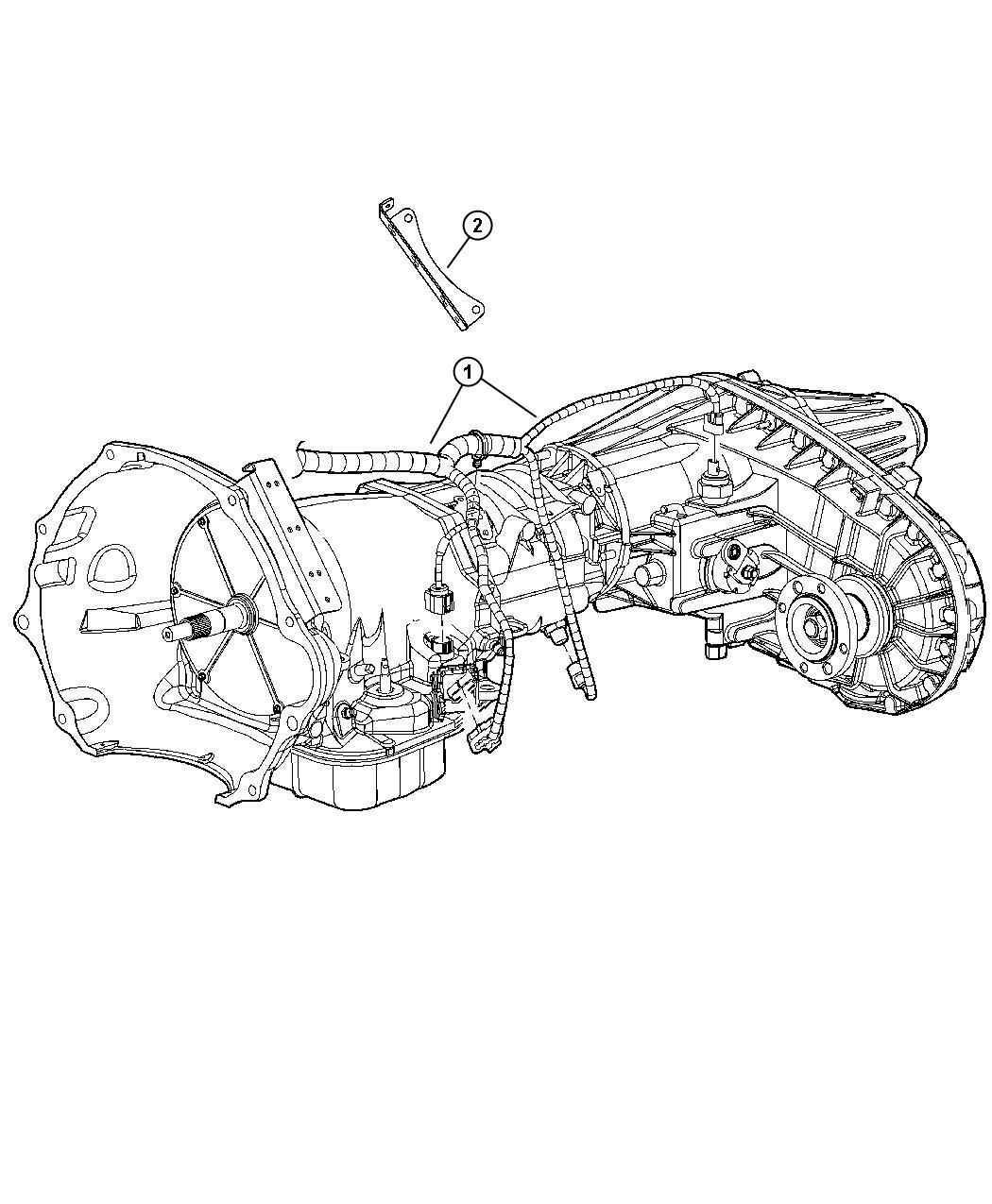 Dodge Ram Wiring Transmission Elec Shift On The