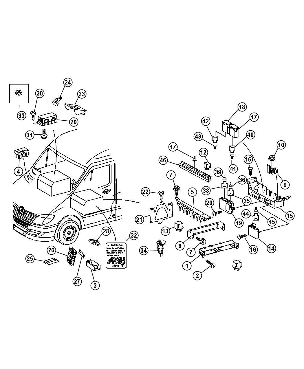 Dodge Sprinter Flasher Module Flasher Module