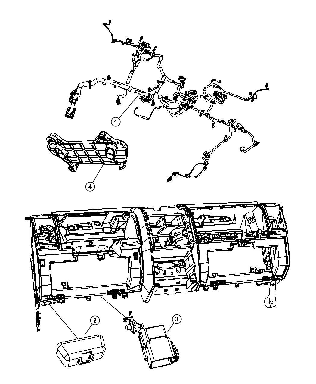 Dodge Nitro Wiring Instrument Panel Export Instrument