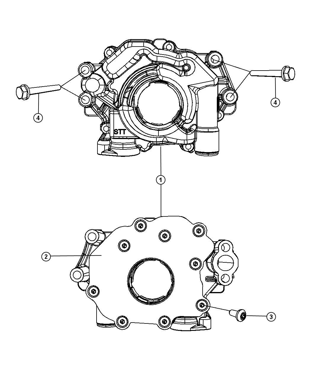 Chrysler 300 Used For Bolt And Coned Washer Hex Head
