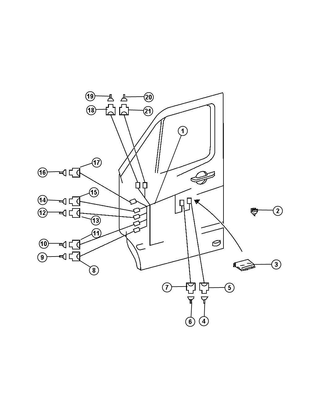 Dodge Sprinter Module Door Lbb Gtb Jkg