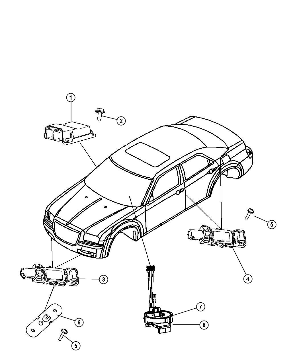 Dodge Charger Clkspring Steering Column Control Mod