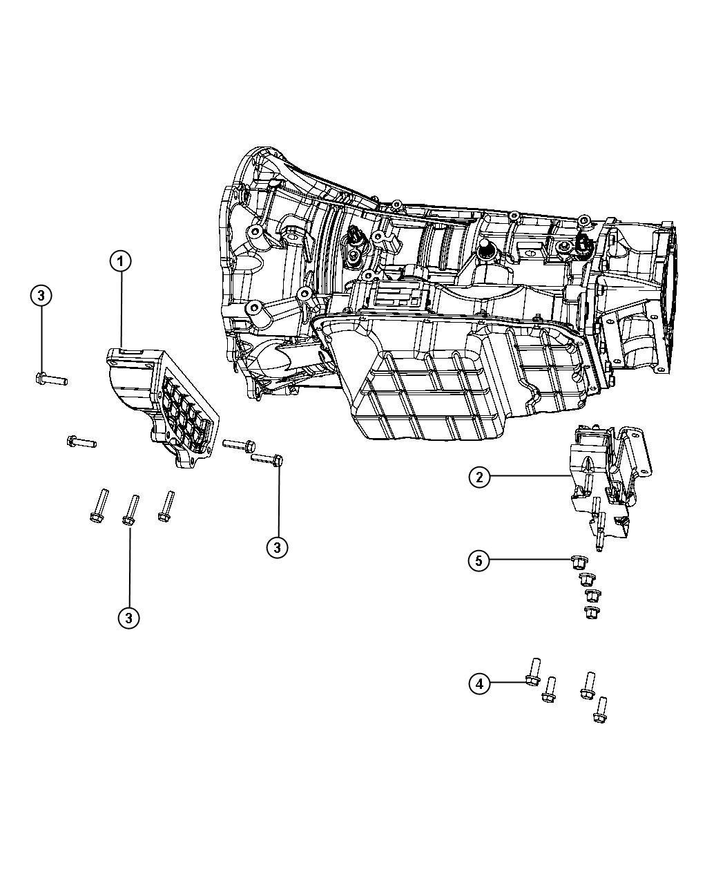 Dodge Ram Isolator Transmission Mount