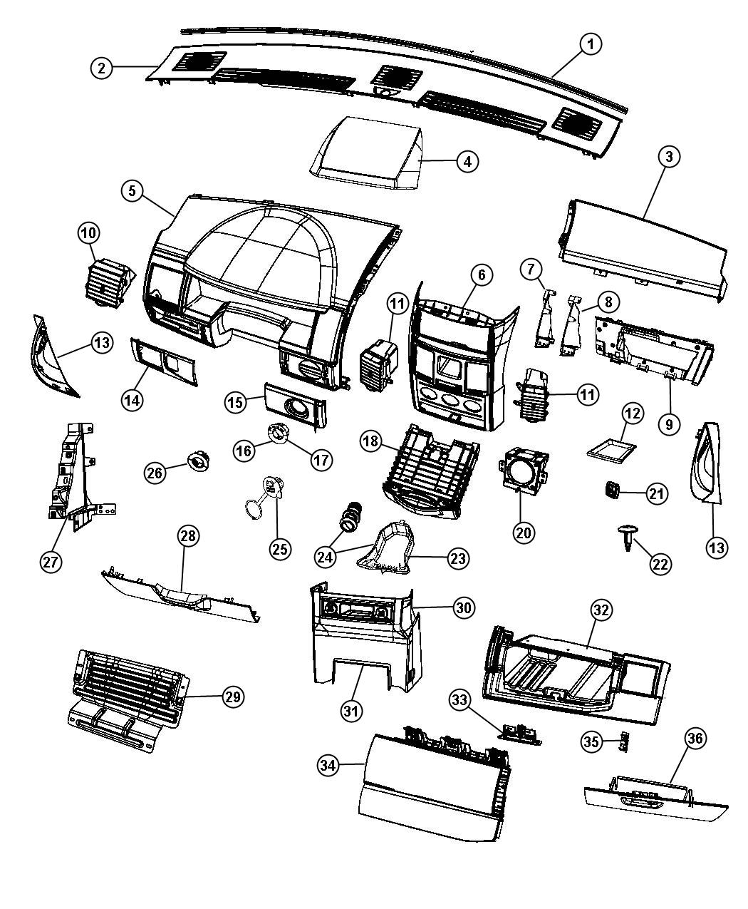29 Dodge Grand Caravan Parts Diagram