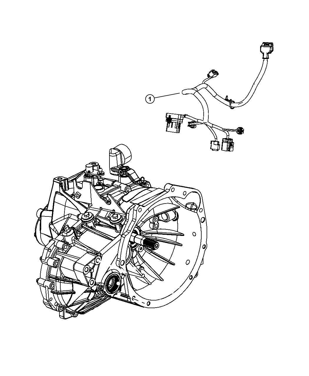 Dodge Journey Wiring Transmission Powertrain Mopar