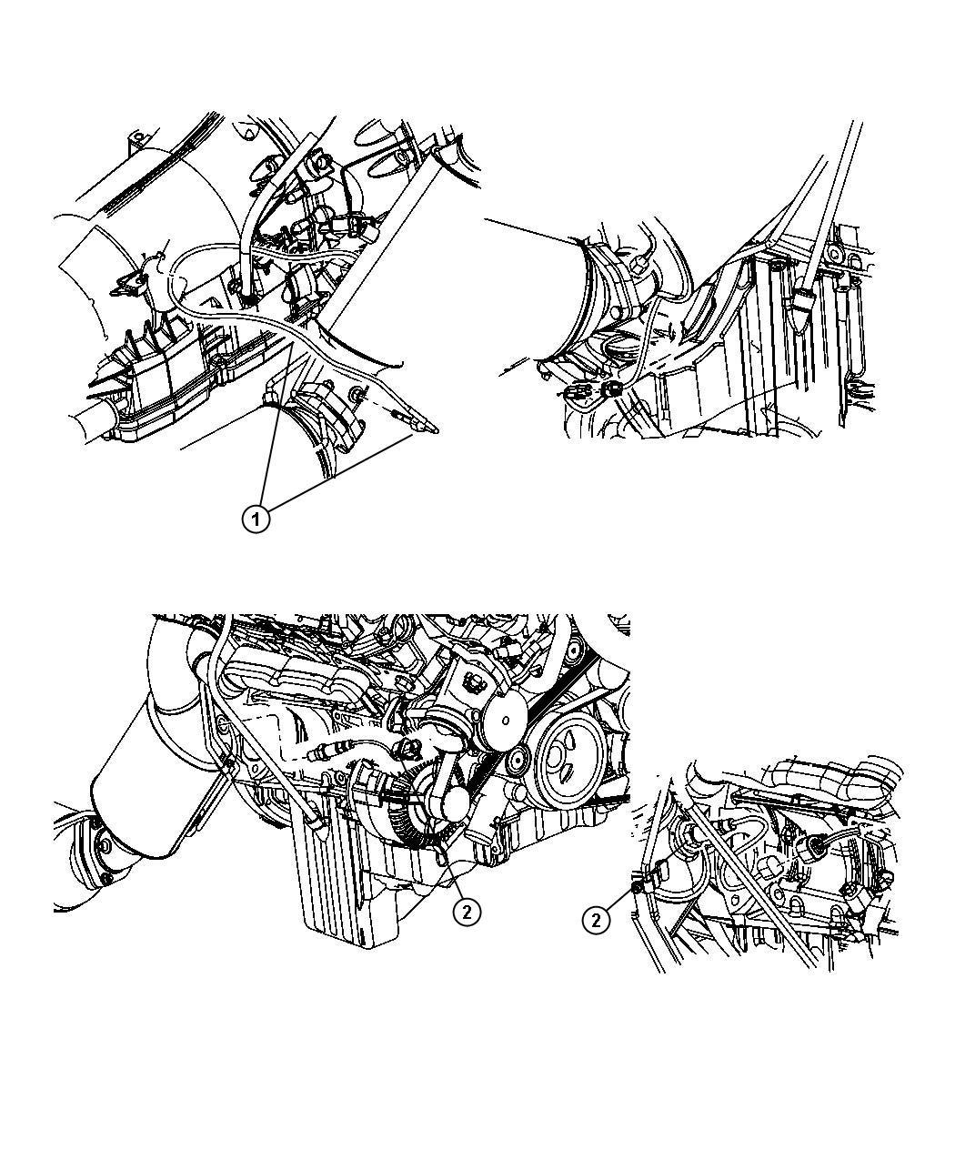 Jeep Grand Cherokee Sensor Exhaust Temperature