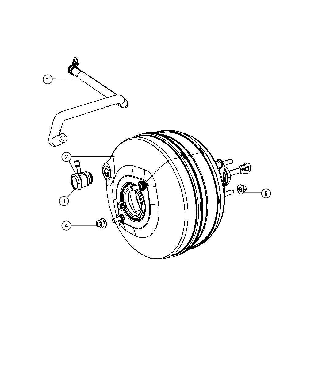 Dodge Ram Booster Power Brake Vehicles Built 9