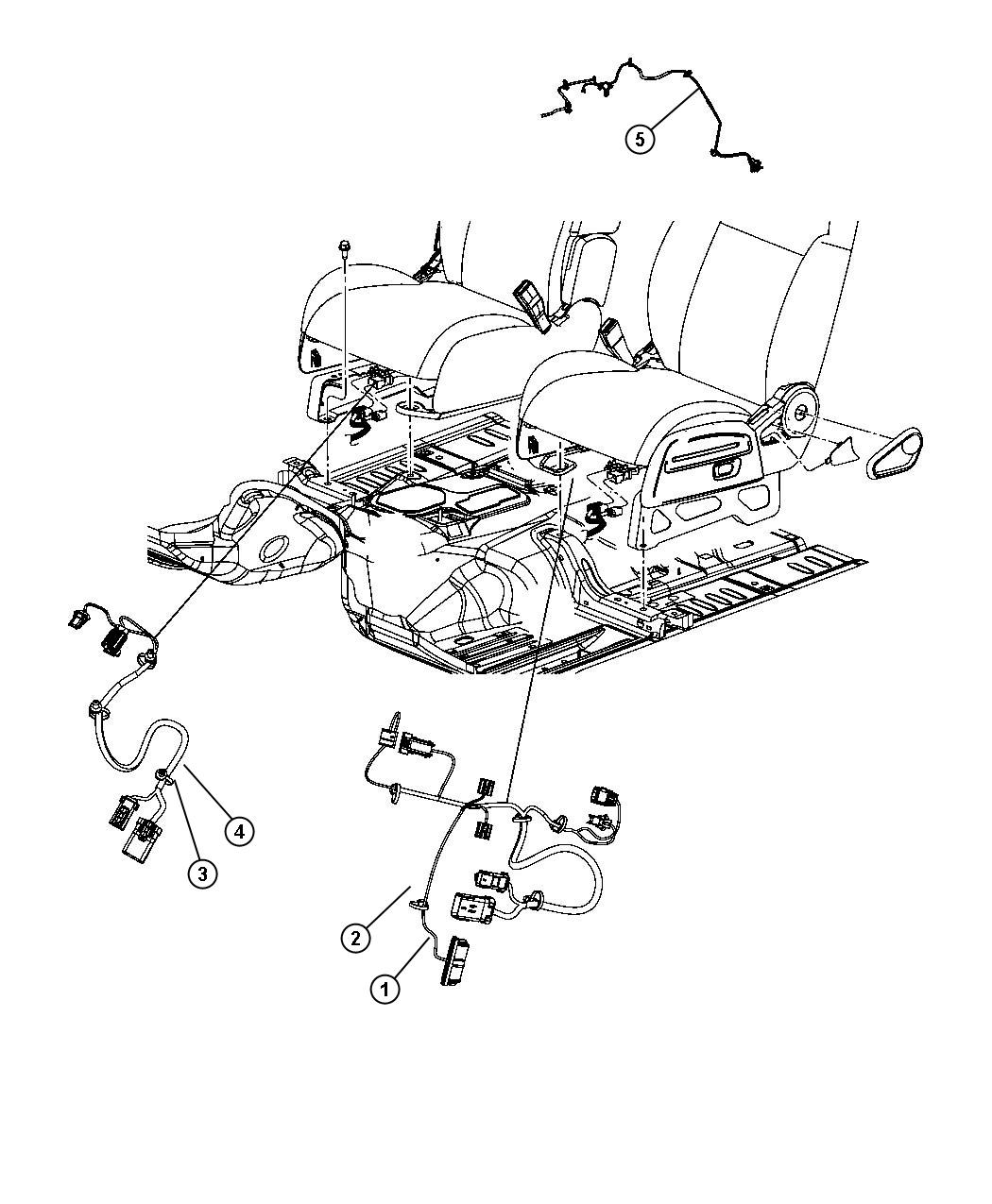 Jeep Liberty Wiring Seat 6 Way Power Fold Flat Seat