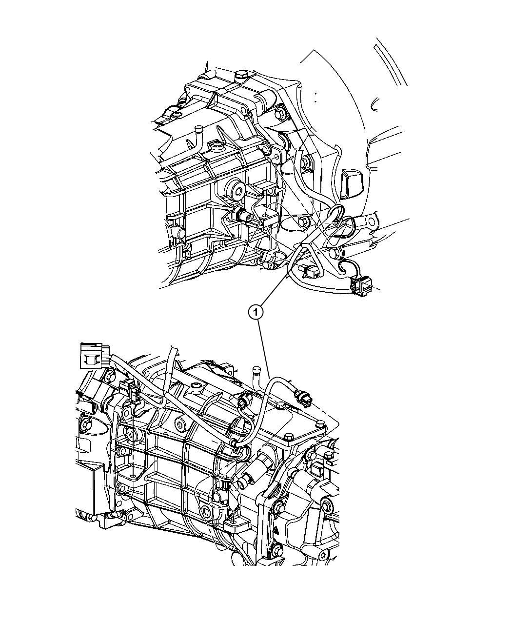 Dodge Challenger Wiring Transmission 6 Speed
