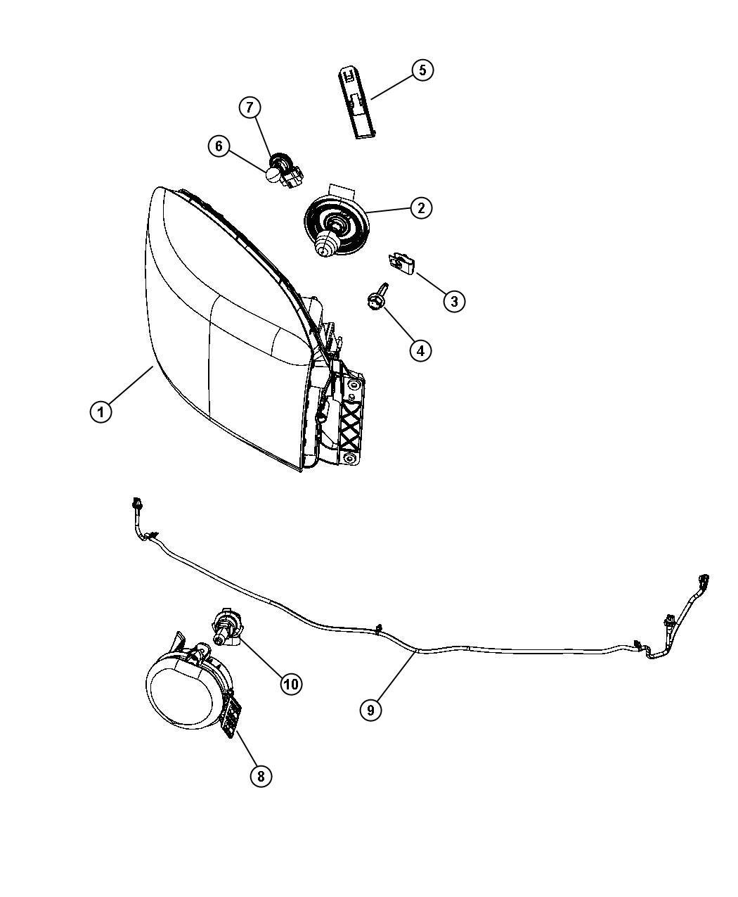 Dodge Ram Wiring Fog Lamp Jumper Apd