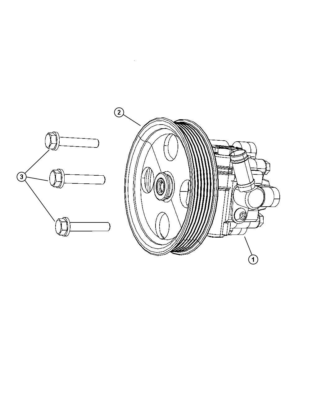 Chrysler Town Amp Country Pump Power Steering
