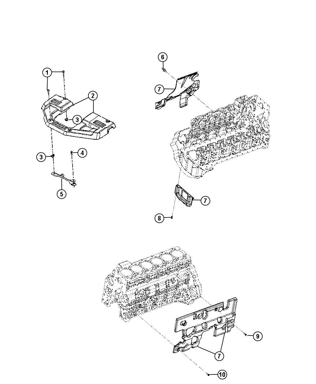 Dodge Ram Cover Engine Federal Emissions 50
