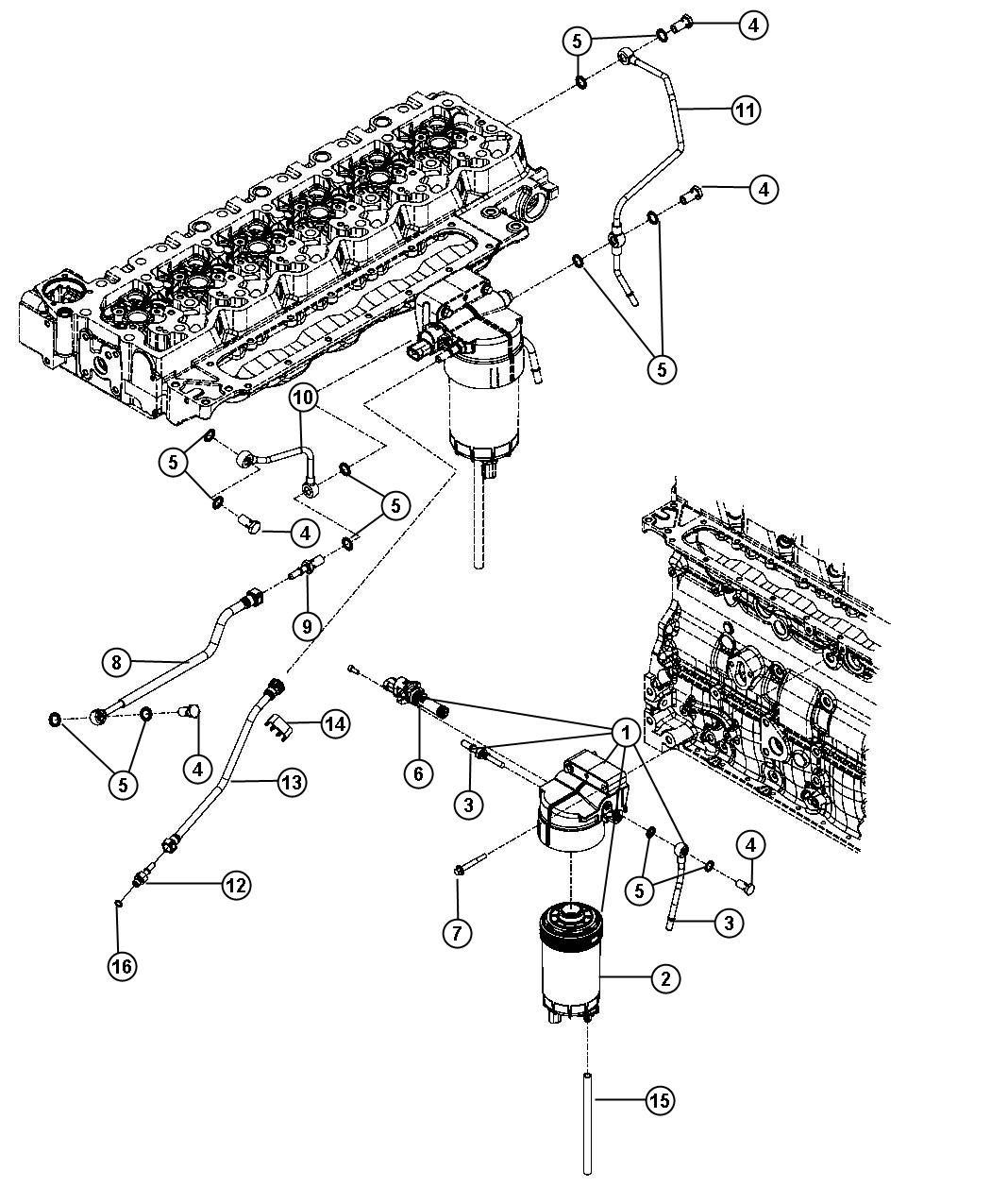 Dodge Ram Fuel Filter