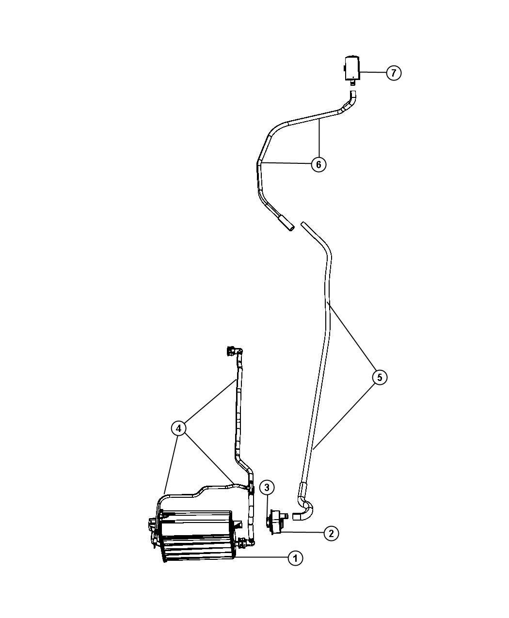 Chrysler Aspen Detector Evaporative System Integrity