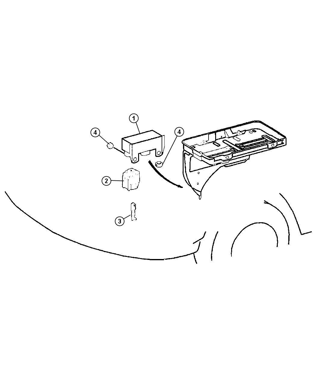 Dodge Sprinter Module Glow Plug Electrical