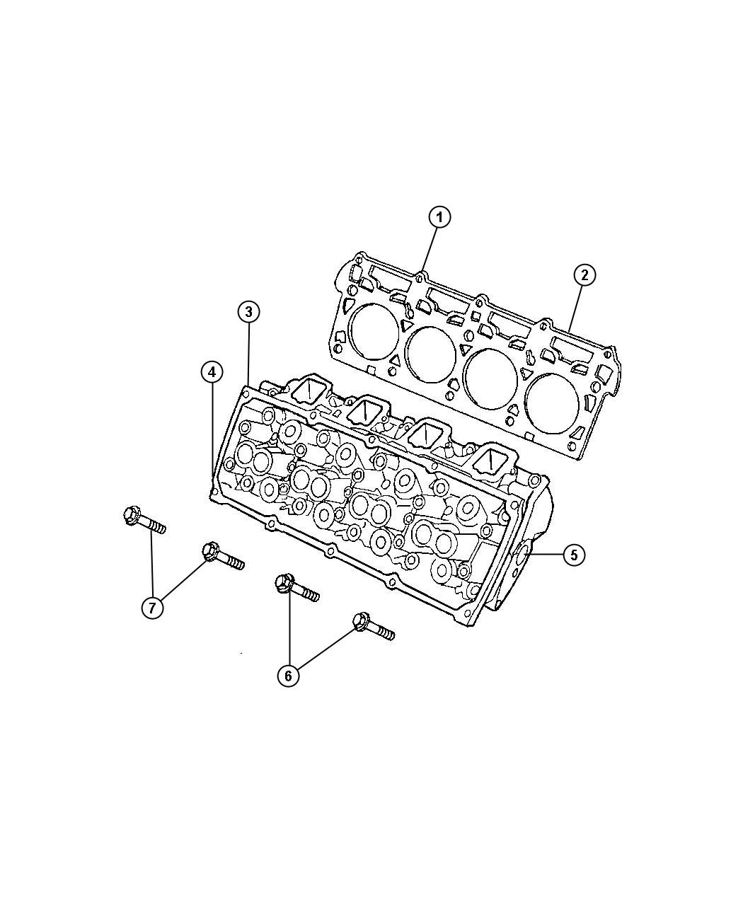 Jeep Grand Cherokee Head Head Assembly Cylinder Engine