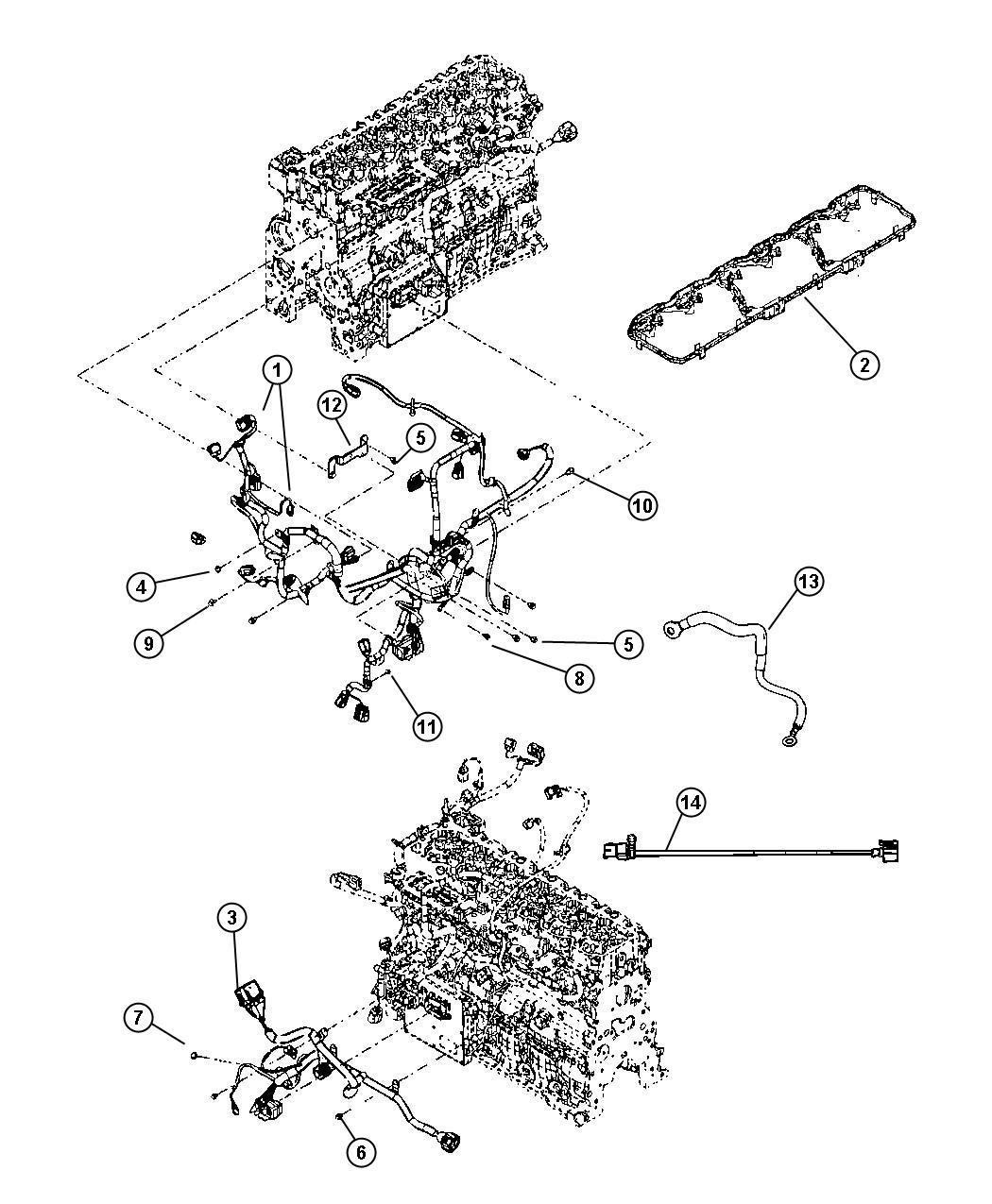 Dodge Ram Cord Engine Block Heater Nhk