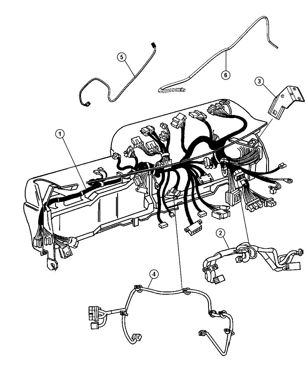 Dodge Ram Wiring Jumper Telematics Module