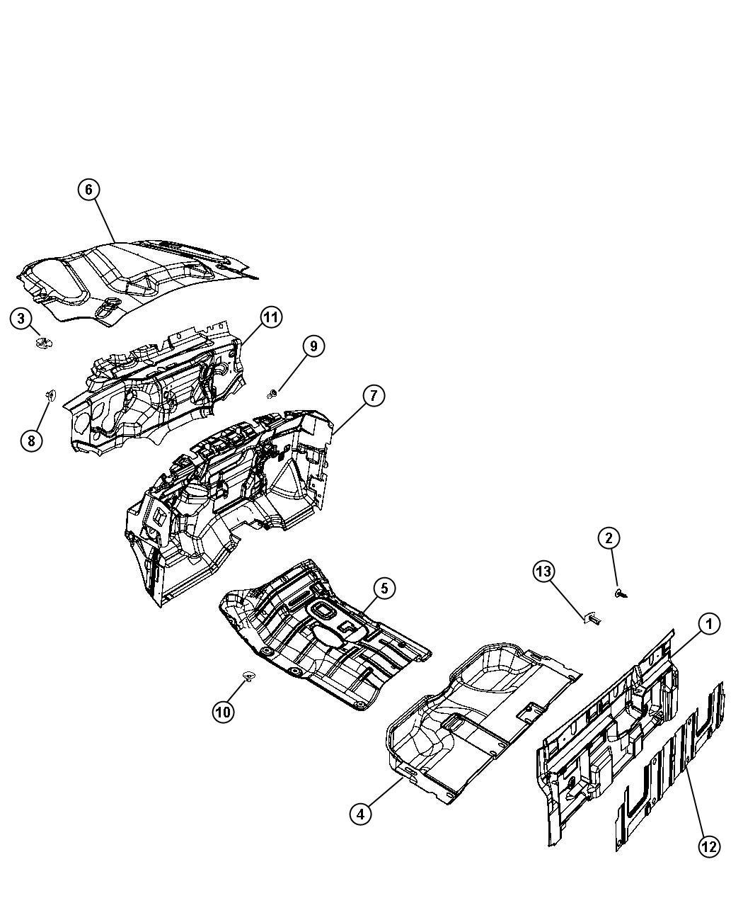 Dodge Ram Engine Compartment Diagram