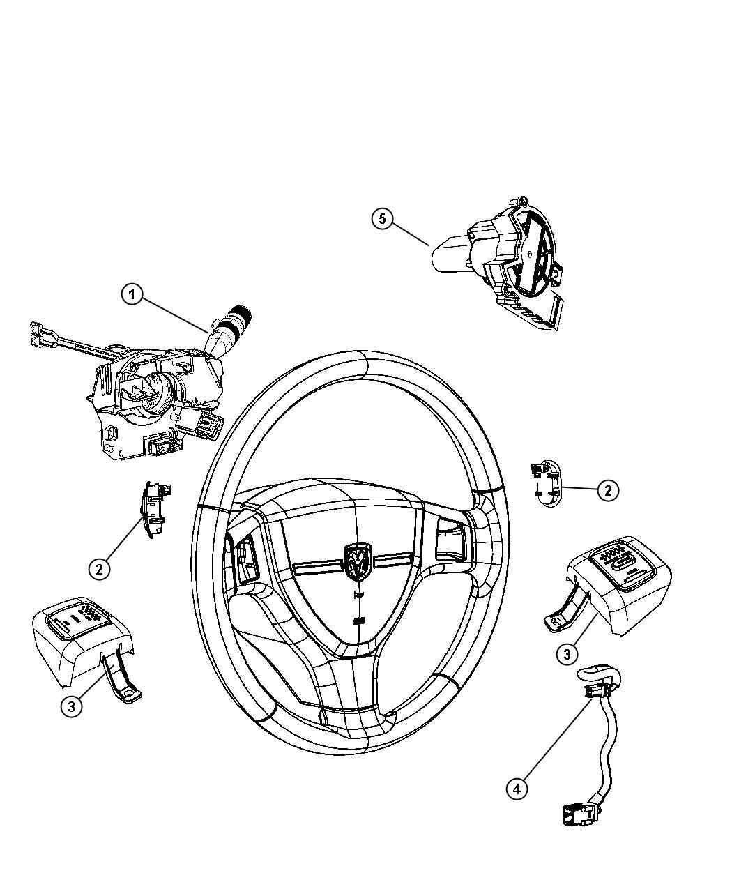 Dodge Dakota Switch Ignition Column Steering Tilt
