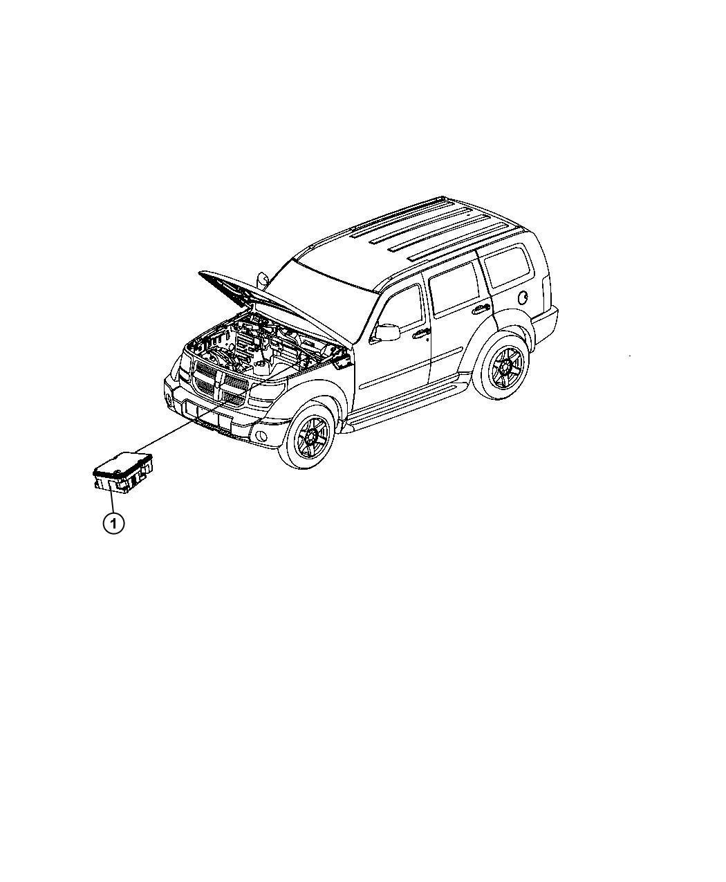 Dodge Nitro Module Anti Lock Brake System Electrical
