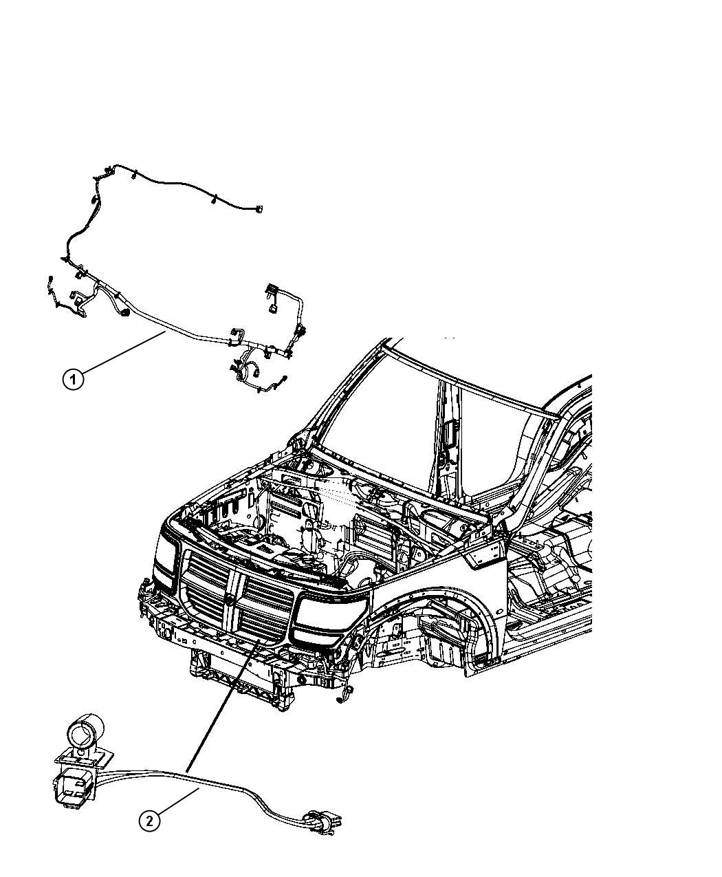 Jeep Liberty Wiring Front End Module