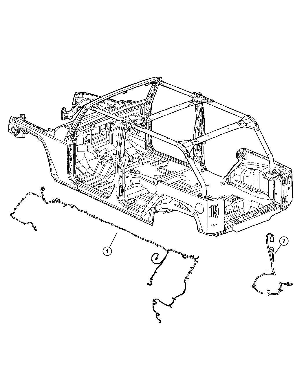 Jeep Wrangler Wiring Trailer Tow Chassis Module