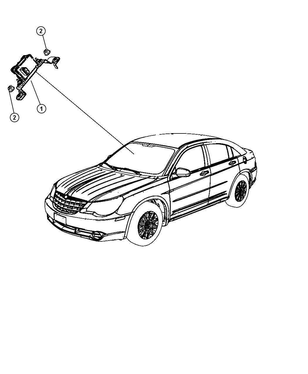 Dodge Express Module Sensor Dynamics Electronic
