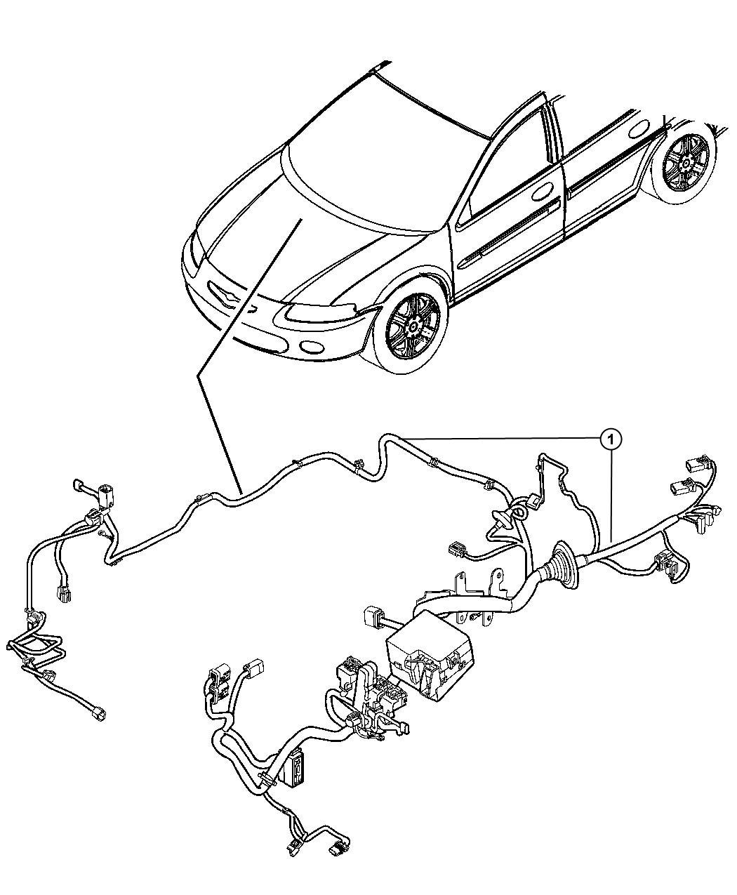 Dodge Express Wiring Headlamp To Dash Mopar Electrical