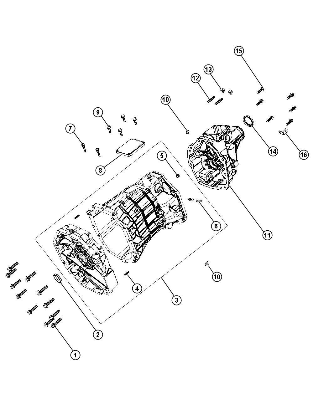 Dodge Ram Plug Oil Fill Transmission Drain
