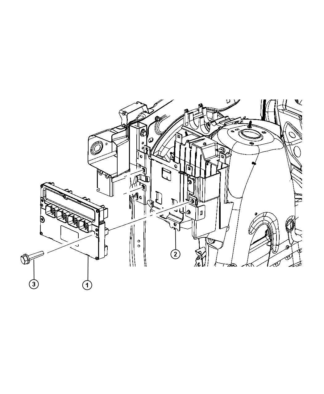 Dodge Module Powertrain Control Generic Engine
