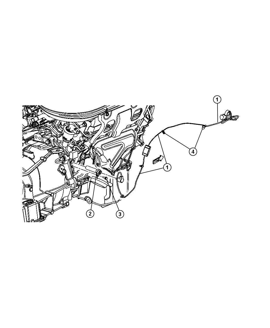 Dodge Express Cord Engine Block Heater 2 4l 4 Cyl