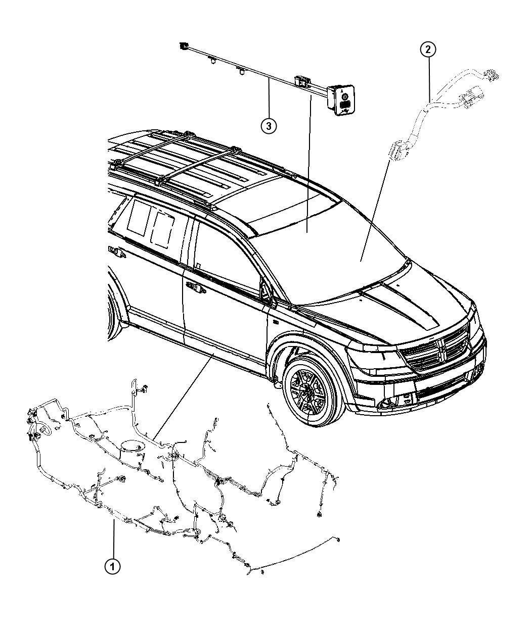 Dodge Journey Wiring Unified Body Rear Air Conditioning