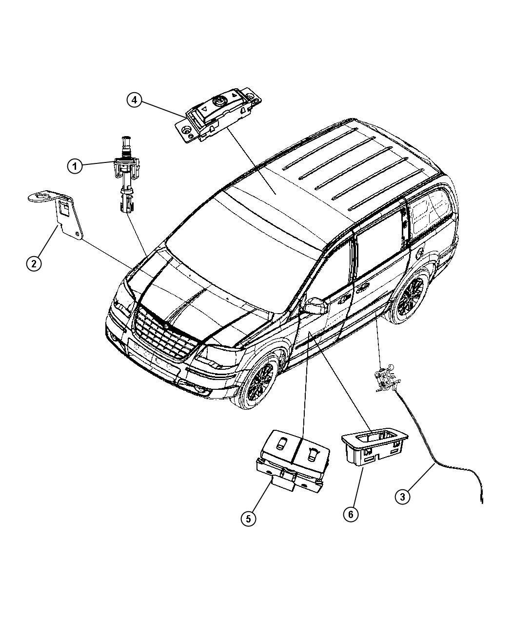 Dodge Grand Caravan Switch Lift Motor Limit
