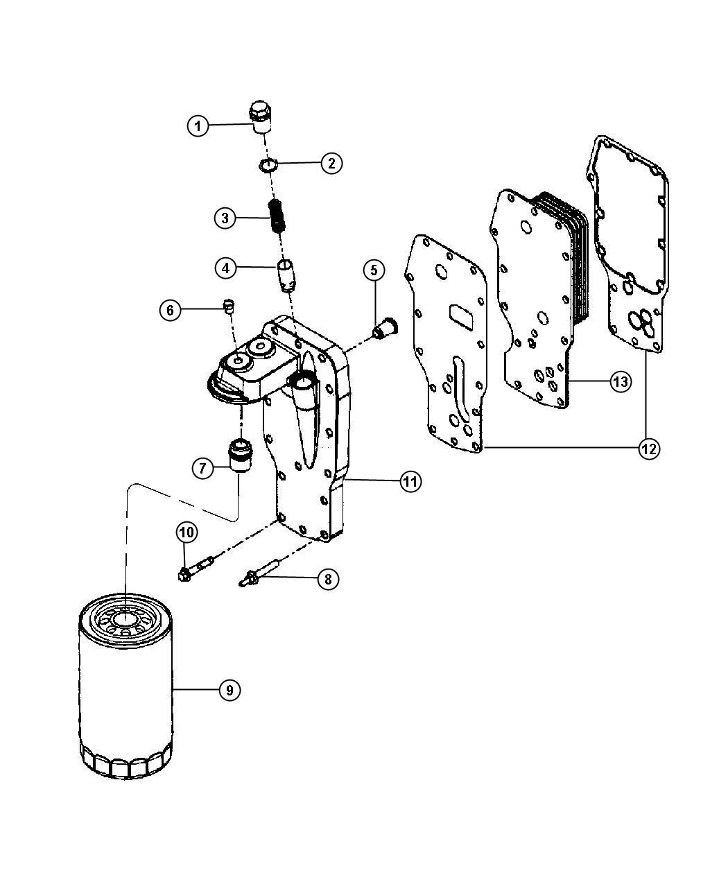 Ram Valve Oil Pressure Relief