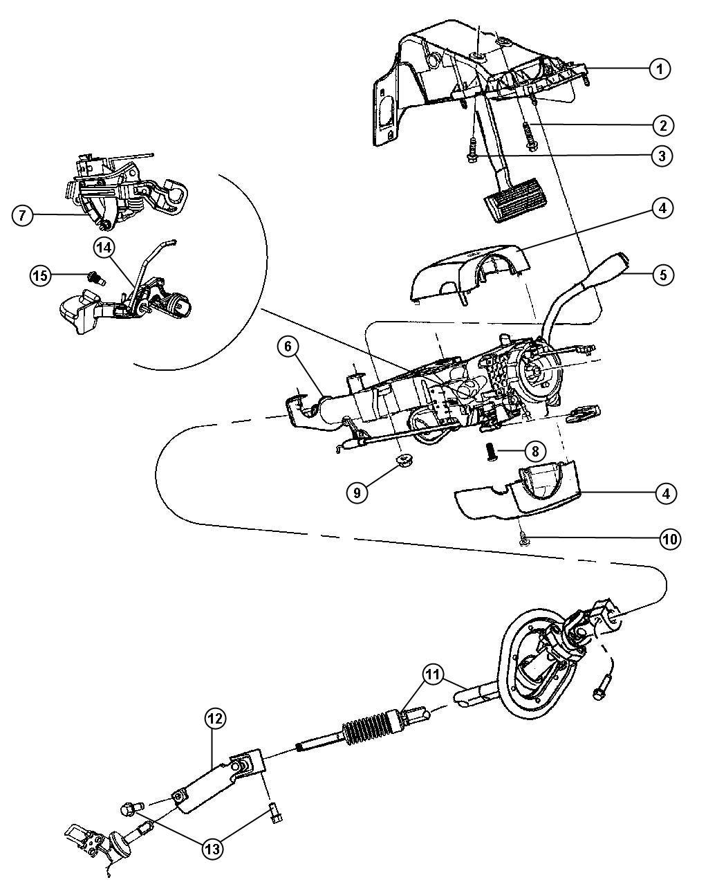 Ram Boot Gear Shift Lever Trim No Description