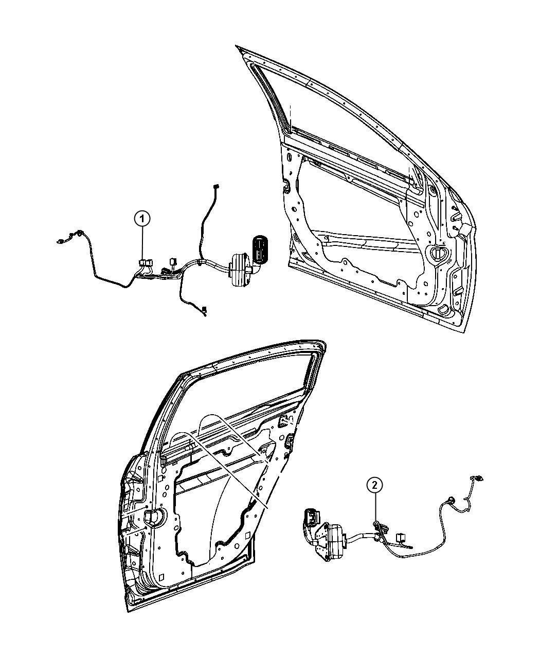 Dodge Avenger Wiring Front Door Right