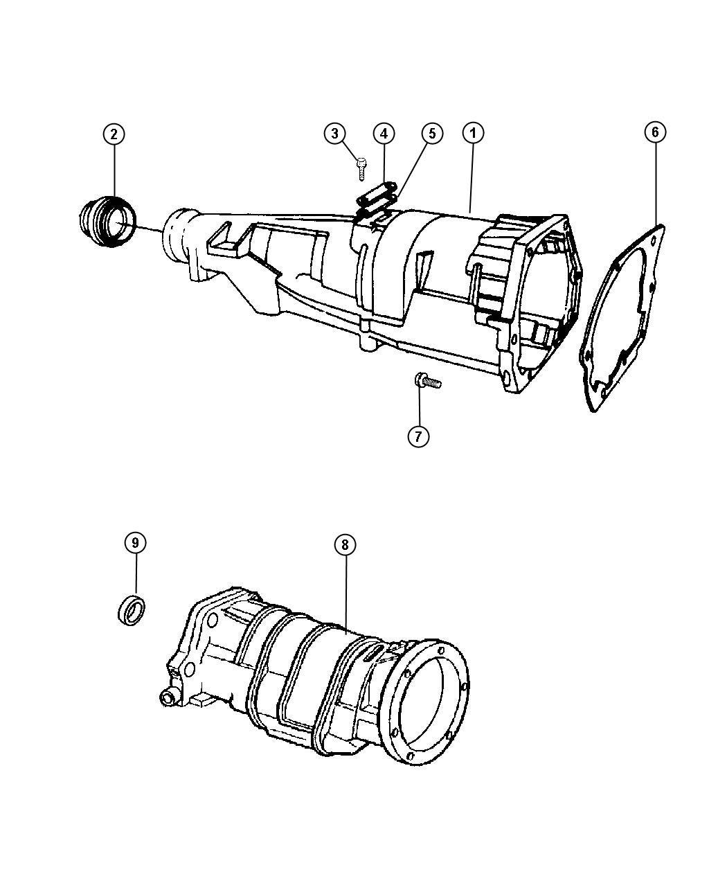 Dodge Ram Adapter Transfer Case
