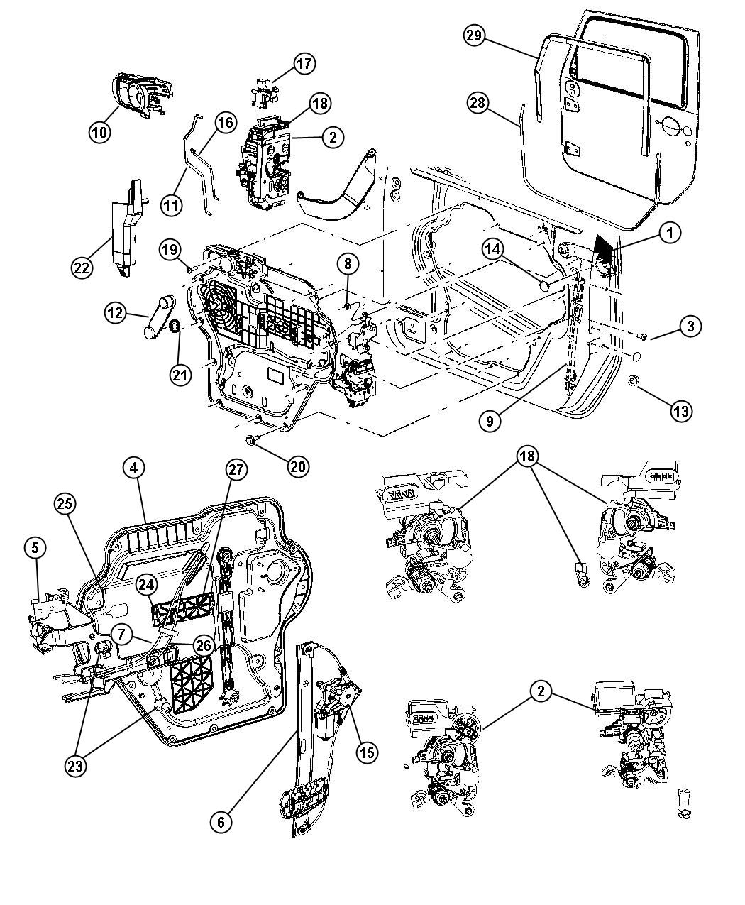 Jeep Wrangler Vehicle Parts