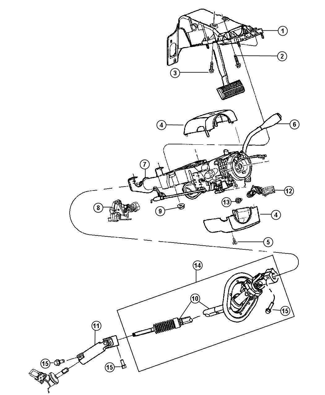 Dodge Ram Column Steering Jha Sua Jha