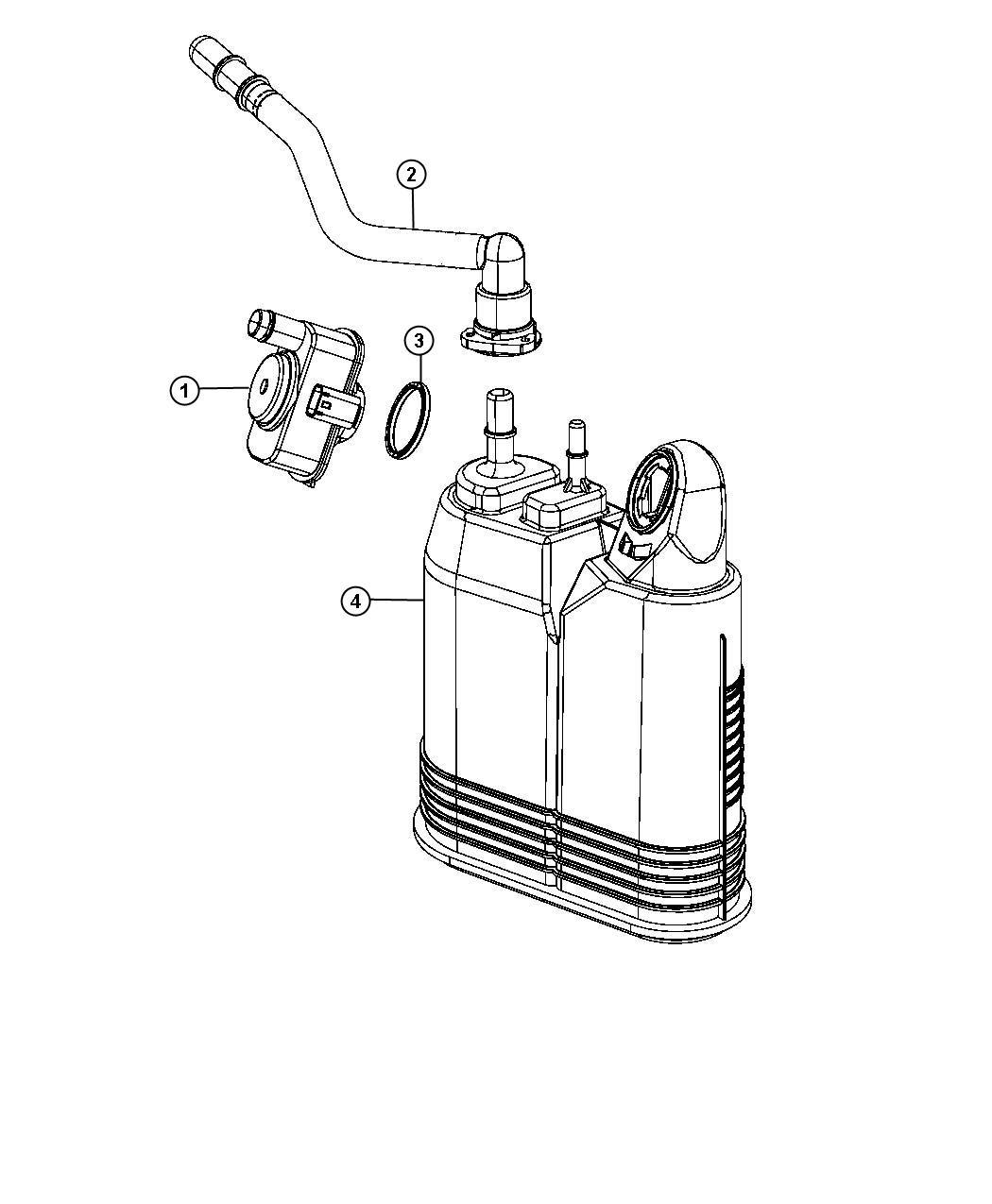 Dodge Detector Evaporative System Integrity Module