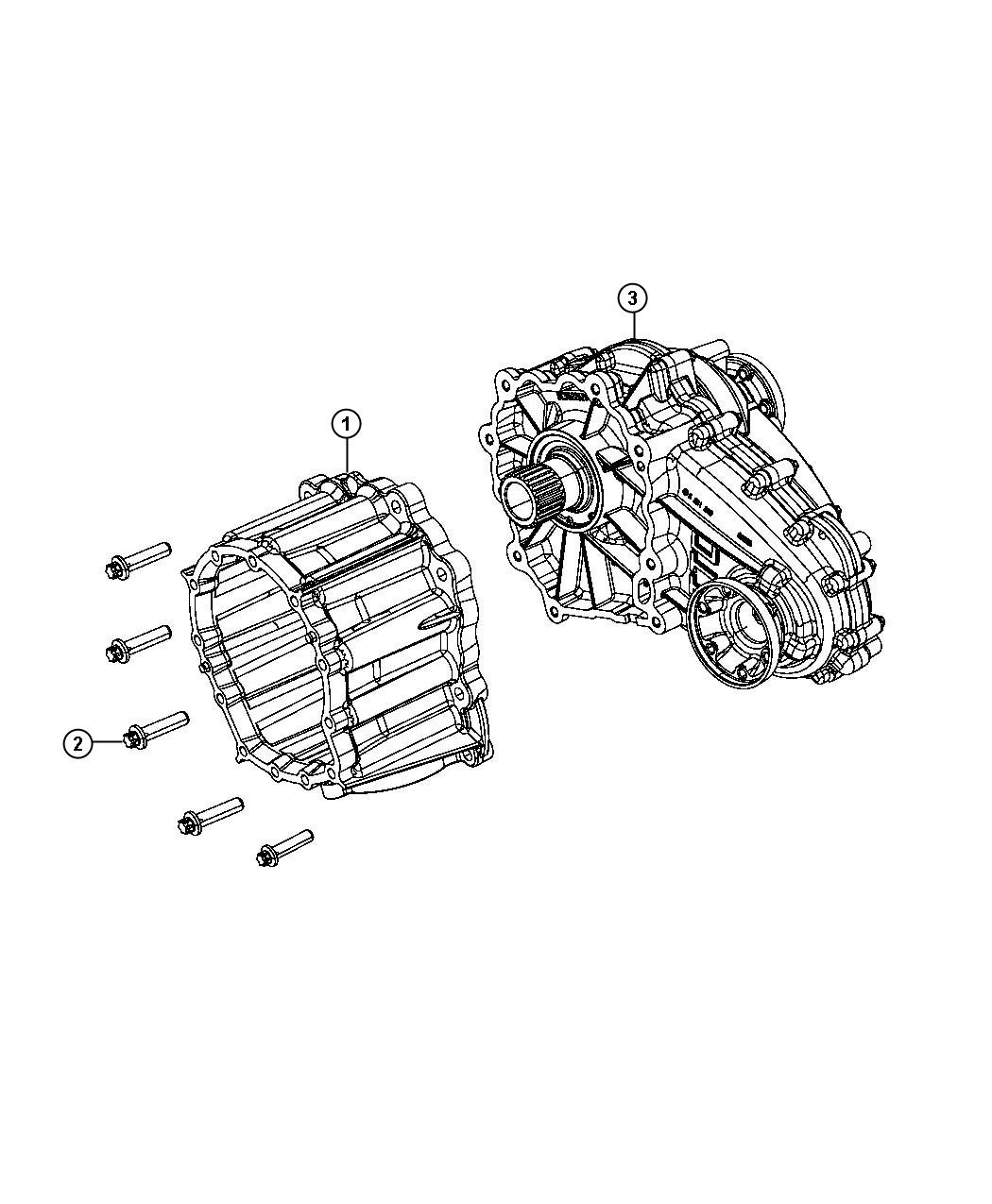 Dodge Durango Transfer Case Dhy Assembly