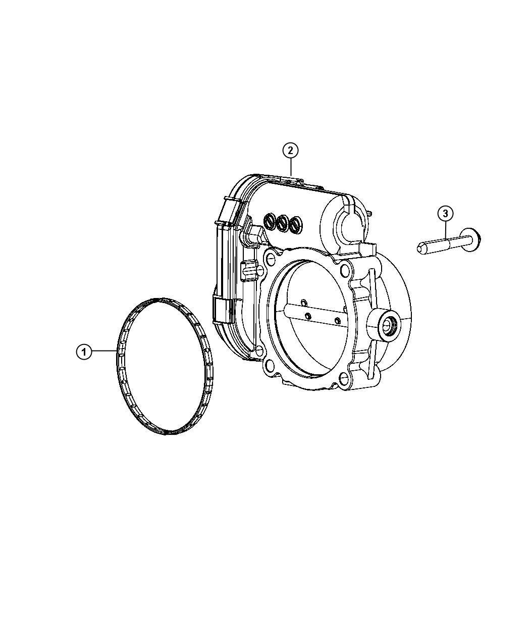 Chrysler Town Amp Country Throttle Body 3 6l V6 24v Vvt