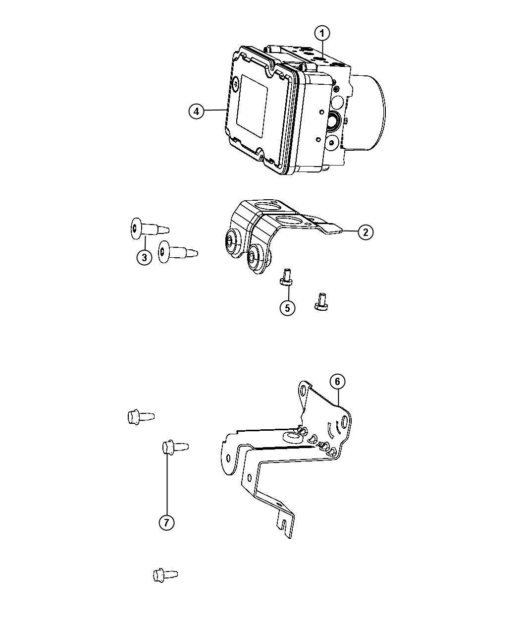 Dodge Dart Control Unit Anti Lock Brake Mpg Fuel