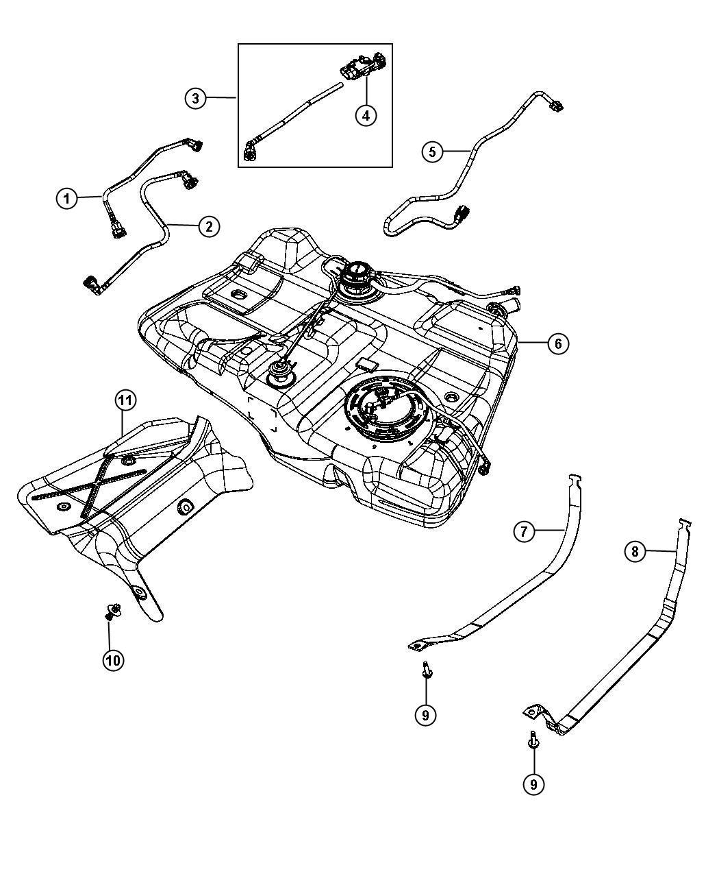 Dodge Avenger Wiring Fuel Tank Jumper Tann