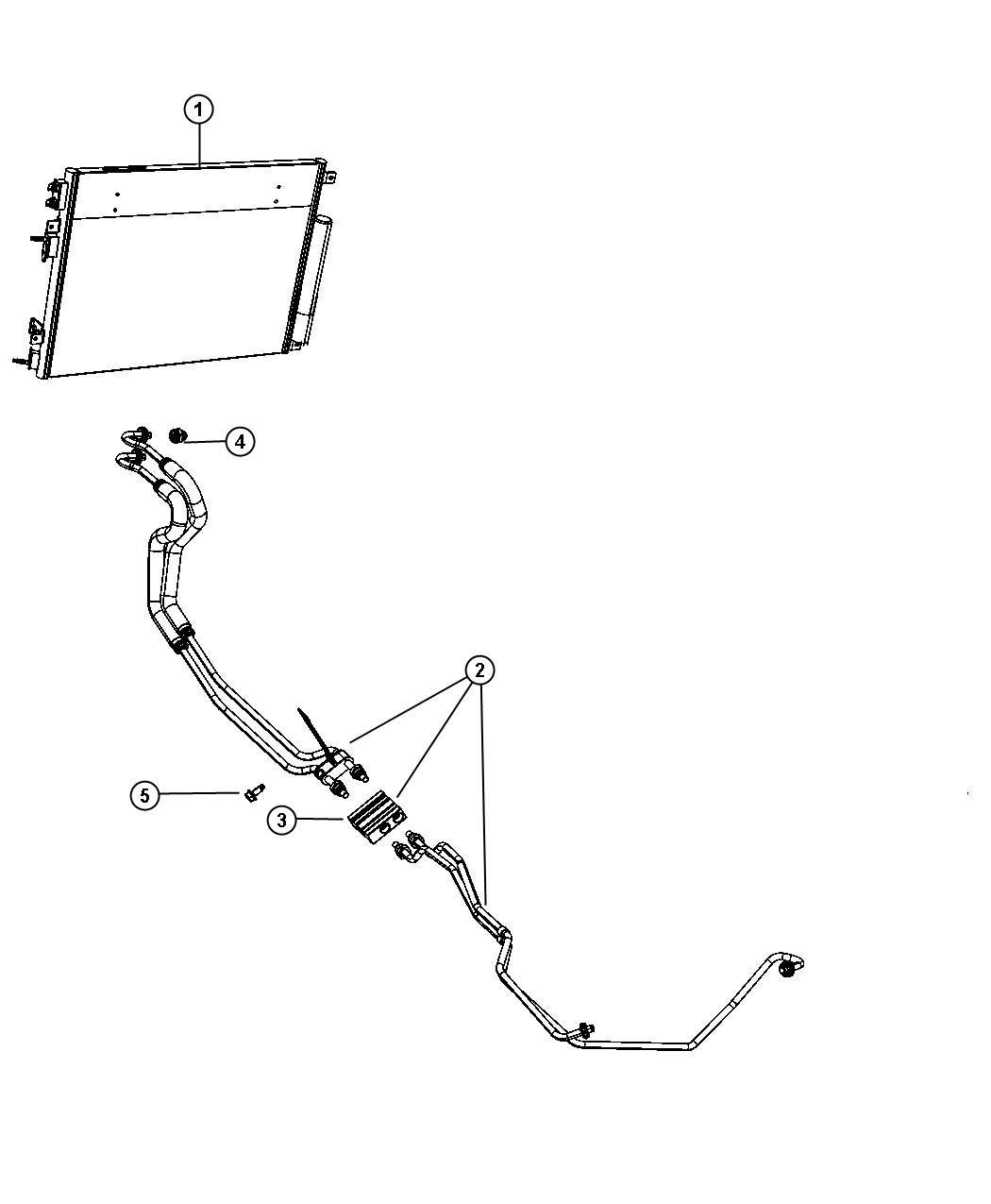 Dodge Grand Caravan Valve Cooler Bypass Front End Parts
