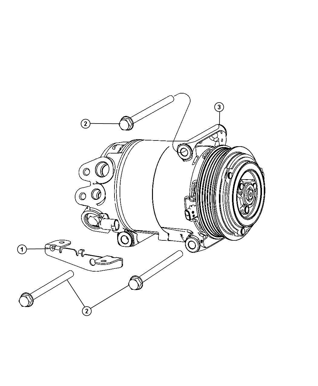 Ram Screw Hex Head M8x1 25x110 Alternator