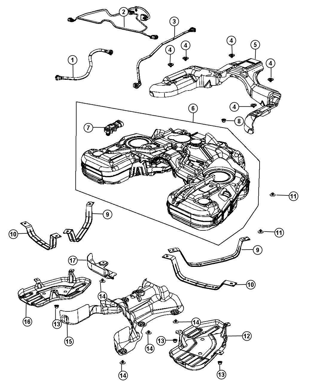 Dodge Durango Wiring Fuel Tank Jumper Nf4 Nf4